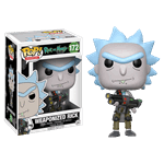 Rick and Morty - Rick with Weapon Pop! Vinyl Figure - Packshot 1