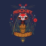 Marvel - Rocket and Groot T-Shirt - M - Packshot 2