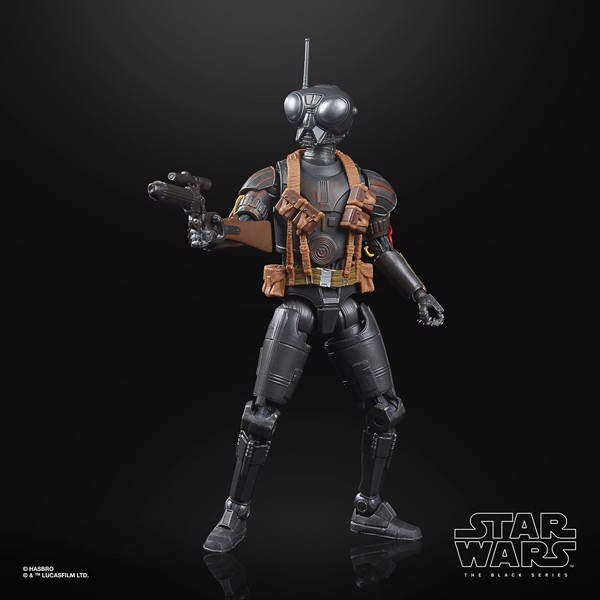 "Star Wars - The Mandalorian Black Series Q9-0 ""Zero"" 6"" Action Figure - Packshot 4"