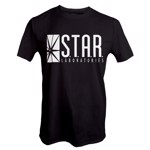 DC Comics - Star Labs T-Shirt - Packshot 1