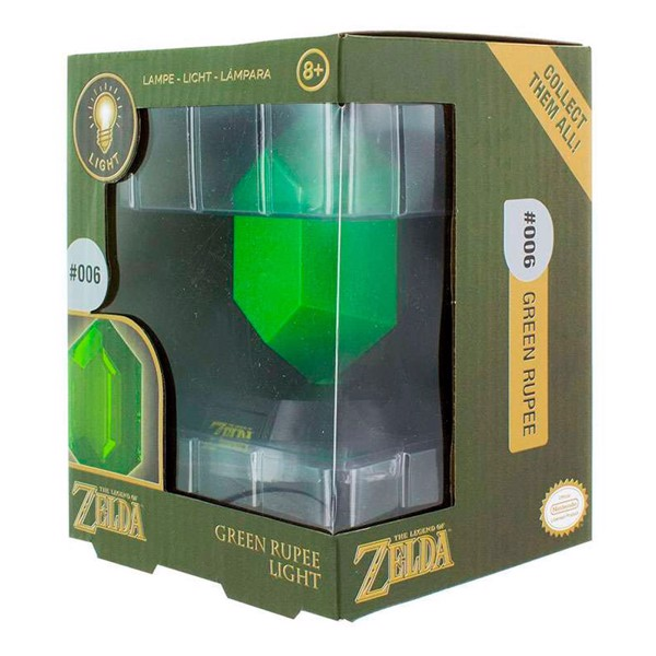 Nintendo - The Legend of Zelda - Green Rupee 3D Light - Packshot 1