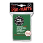 ULTRA PRO PRO-Matte – Deck Protector® Sleeves Green 50ct - Packshot 1