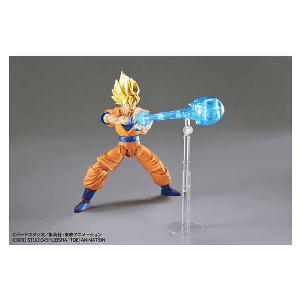 Dragon Ball Z - Super Saiyan Goku Figure-Rise Bandai Figure - Packshot 3