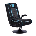 BraZen Serpent 2.1 Bluetooth Surround Sound Gaming Chair - Blue - Packshot 1