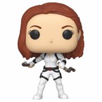 Marvel - Black Widow - Black Widow in White Suit Pop! Vinyl Figure - Packshot 1