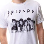 Friends - Group Milkshake T-Shirt - Packshot 3