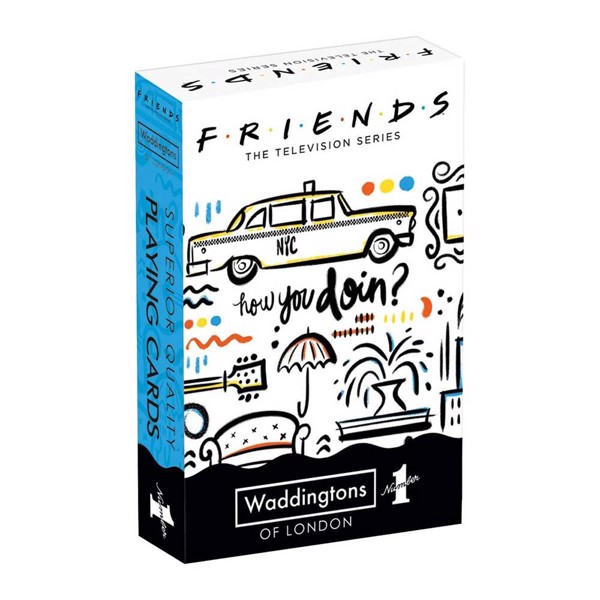 Friends - Waddingtons Number 1 Playing Cards - Packshot 1