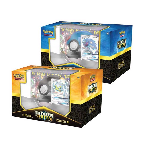 Pokemon - TCG - Hidden Fates Poké Ball Collection - Packshot 1