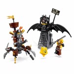 The LEGO Movie 2 - LEGO Battle-Ready Batman™ and MetalBeard Construction Set - Packshot 3