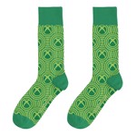 Xbox - Pattern Symbol Green Socks - Packshot 1