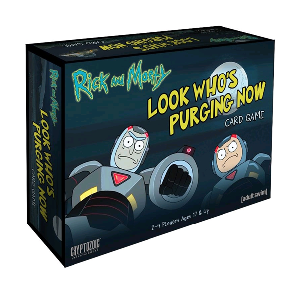 Rick and Morty - Look Who's Purging Now Card Game - Packshot 1