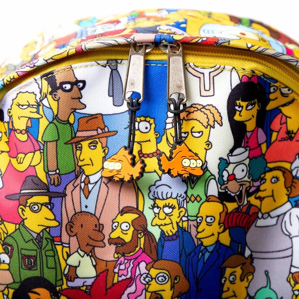 The Simpsons - Extended Cast All-Over Print Backpack - Packshot 2