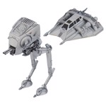 Star Wars - Snowspeeder and AT-ST Building Kit Figure - Packshot 1