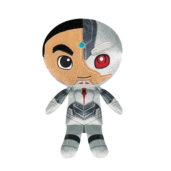 "DC Comics - Justice League - Cyborg SuperCute 8"" Plush - Packshot 1"
