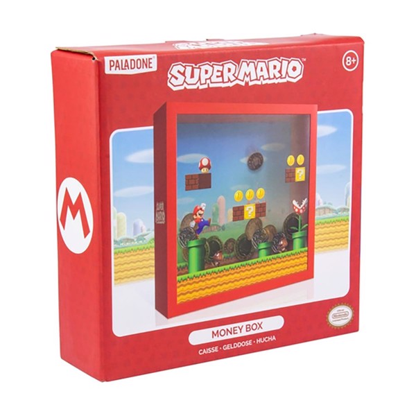 Nintendo - Super Mario - Mario Money Box Bank - Packshot 1