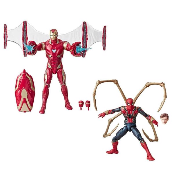 Marvel - Marvel Legends 80th Anniversary Iron Man MK 50 & Iron Spider 2-Pack - Packshot 1