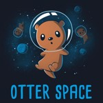 Otter Space T-Shirt - L - Packshot 2