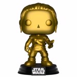 Star Wars - Rey Gold Metallic Pop! Vinyl Figure - Packshot 1