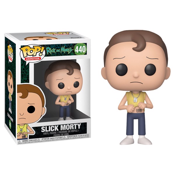 Rick and Morty - Slick Morty Pop! Vinyl Figure - Packshot 1
