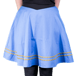 Star Trek - Sciences TOS Uniform Women's Skirt - Blue - Size: S - Packshot 2