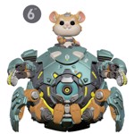 "Overwatch - Wrecking Ball 6"" Pop! Vinyl Figure - Packshot 1"