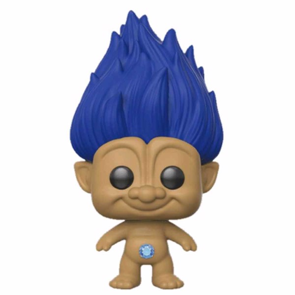 Trolls - Blue Troll with Hair Pop! Vinyl Figure - Packshot 1