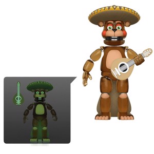 Five Nights at Freddy's Pizza Simulator - El Chip Glow in the Dark Action Figure
