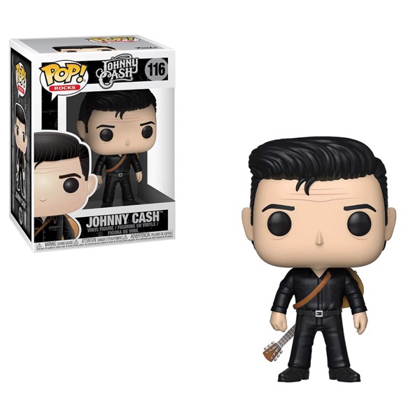 Johnny Cash - Johnny Cash in Black Pop! Vinyl Figure - Packshot 1
