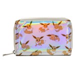 Pokemon - Eevee Silver Holographic Zip-Around Wallet - Packshot 1