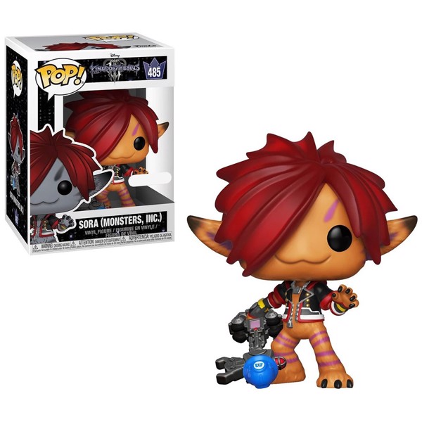 Kingdom Hearts III - Sora Monster's Inc. Orange Pop! Vinyl Figure - Packshot 1