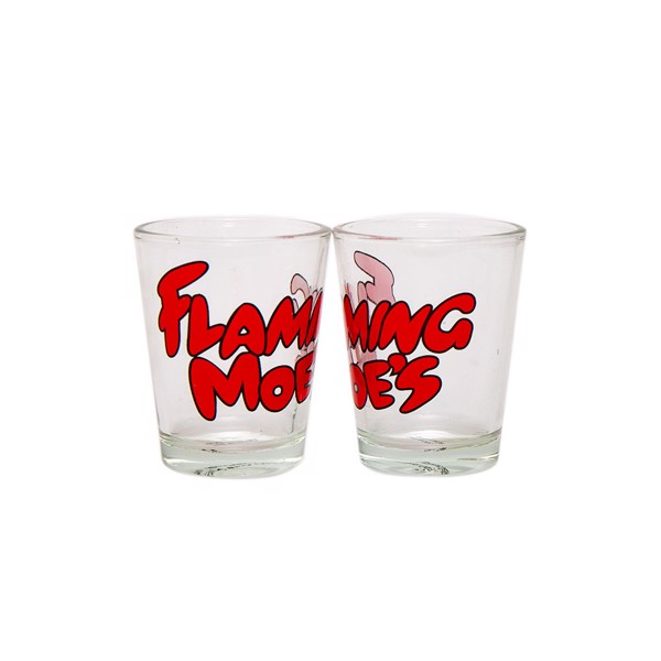 The Simpsons - Flaming Moe's Shot Glasses - Packshot 1