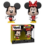 Disney - Mickey & Minnie Mouse Vynl Figure 2-Pack - Packshot 1