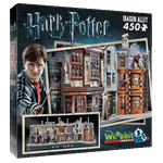 Harry Potter - Diagon Alley 3D Puzzle - Packshot 1