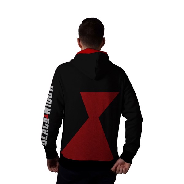 Marvel - Black Widow - Black & Red Hoodie - XL - Packshot 3