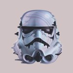 Star Wars - Storm Trooper Ripple T-Shirt - L - Packshot 2