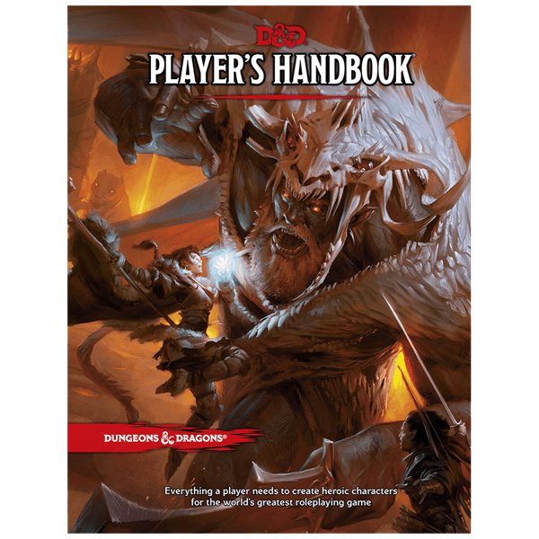 Dungeons & Dragons - Player's Handbook - Packshot 1