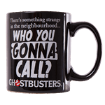 Ghostbusters - Who You Gonna Call? Black Mug - Packshot 1