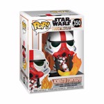 Star Wars: The Mandalorian - Incinerator Stormtrooper Pop! Vinyl Figure - Packshot 2