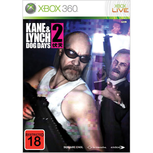 Kane & Lynch 2: Dog Days - Packshot 1