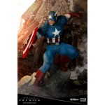 Marvel - Super Soldier Captain America ARTFX Premier series Statue - Packshot 2