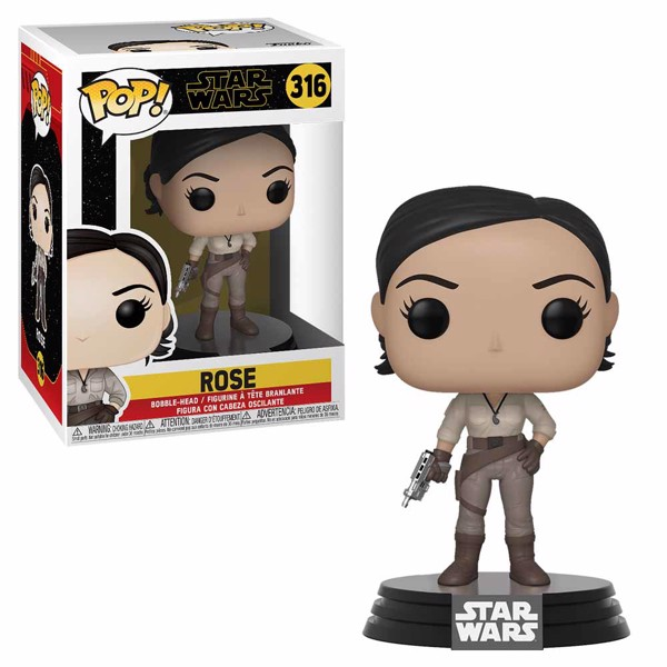 Star Wars - Episode IX - Rose Tico Pop! Vinyl Figure - Packshot 1