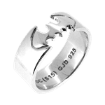 DC Comics - Batman Ring Size Q - Packshot 1