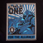 World of Warcraft - Alliance Propaganda T-Shirt - Packshot 2
