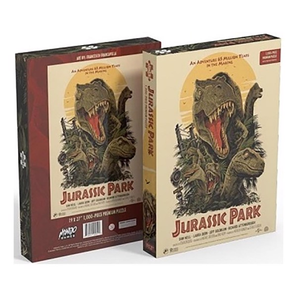Jurassic Park - Movie Poster 1000-Piece Puzzle - Packshot 1