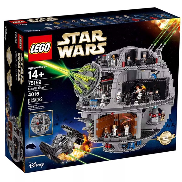 LEGO® - Star Wars - Death Star Space Station Building Kit with Star Wars Minifigures - Packshot 5