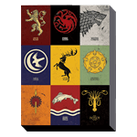 Game of Thrones - House Sigils Canvas - Packshot 1