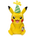 "Pokemon - 25th Anniversary Party Hat Pikachu 24"" Plush - Packshot 1"
