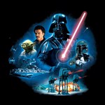 Star Wars - Empire Strikes Back 40th Anniversary Vader Group T-Shirt - Packshot 2