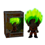 Dragon Ball Z - Super Saiyan Goku (Glow-in-the-Dark) Pop! Vinyl Figure - Packshot 1