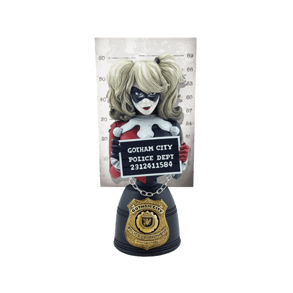 DC Comics - Harley Quinn 20cm Cryptozoic Entertainment Bust - Packshot 1